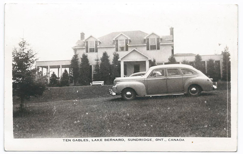 Old Photo of Ten Gables