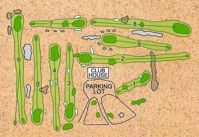 Course Map layout