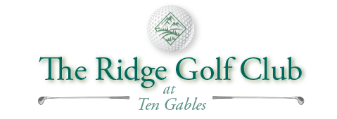 The Ridge Golf Club Sticky Logo