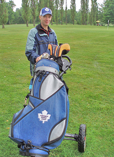 Maple Leaf Golf Bag