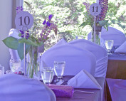 Table setting for an event