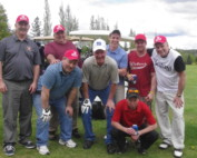 Men Group Golfer